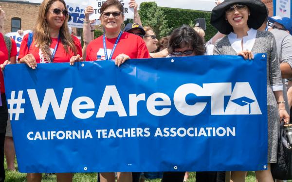 Does the California Teachers Association (CTA) Represent the Majority of Teachers' Views?