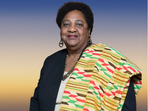 Assemblywoman Shirley Weber, author of Calif Healthy Youth Act (AB 329) received HTN's 2018 Spirit Award (