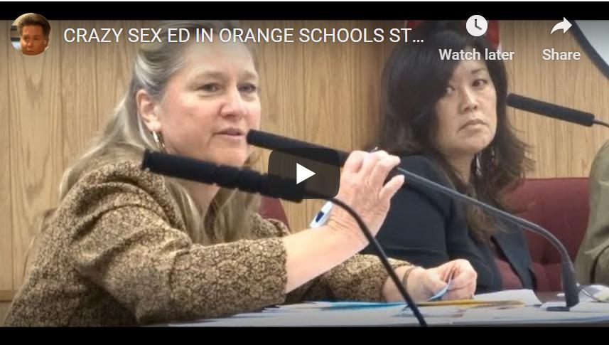 Orange Unified School Board Meeting Parents Stop Radical Sex Ed